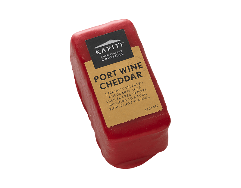 Kāpiti Port Wine Cheddar Cheese