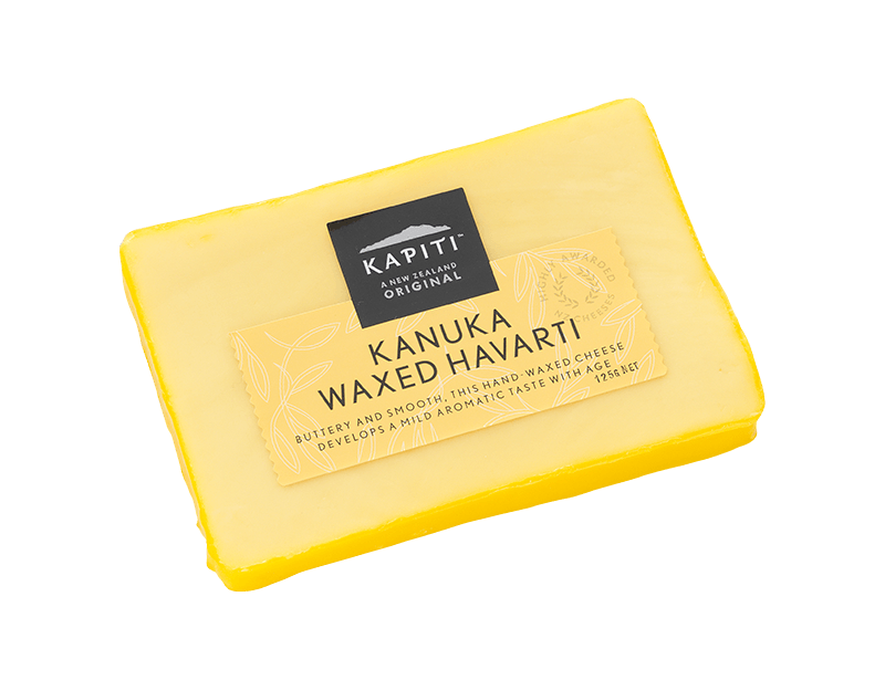 Kapiti Kanuka Waxed Havarti Cheese