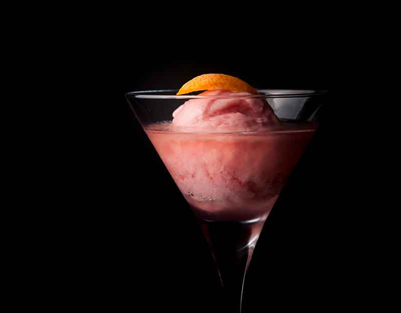 Kāpiti Blood Orange & Cranberry Sorbet Cosmo